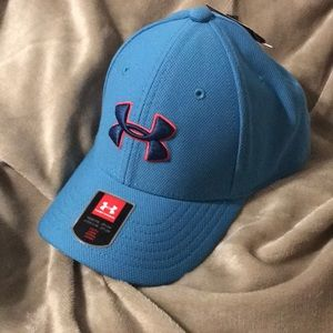 Youth Under Armour Hat- Blue